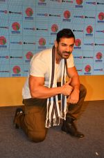 John Abraham during a tourism program for the North East Indian state of Arunachal Pradesh in Mumbai on 6th Sept 2016 (50)_57cfb72abf339.JPG