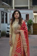 Shamita Shetty at Shilpa Shetty Ganpati visarjan on 6th Sept 2016 (49)_57cfb8472c3fe.JPG