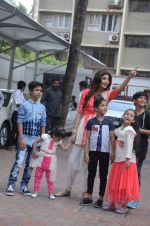 Shilpa Shetty Ganpati visarjan on 6th Sept 2016 (162)_57cfb8de45317.JPG