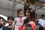 Shilpa Shetty Ganpati visarjan on 6th Sept 2016 (204)_57cfb92977f4f.JPG