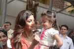 Shilpa Shetty Ganpati visarjan on 6th Sept 2016 (252)_57cfb97f2574a.JPG