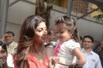 Shilpa Shetty Ganpati visarjan on 6th Sept 2016 (253)_57cfb980aa960.JPG