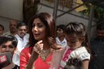 Shilpa Shetty Ganpati visarjan on 6th Sept 2016 (259)_57cfb988ea673.JPG