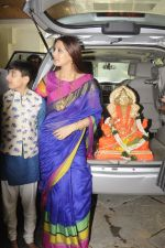Sonali Bendre_s Ganapati Visarjan on 6th Sept 2016 (17)_57cfb894779ed.JPG