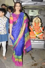 Sonali Bendre_s Ganapati Visarjan on 6th Sept 2016 (21)_57cfb8a0c86bd.JPG