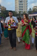 Suzanne Khan_s Ganpati Visarjan on 6th Sept 2016 (21)_57cfb8c5c2d46.JPG