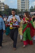 Suzanne Khan_s Ganpati Visarjan on 6th Sept 2016 (22)_57cfb8c74ddcb.JPG