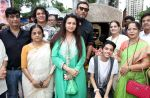 kishan kumar,bhawana somaya,avitesh,poonam dhillon,jackie shroff,anivesh,vijayta shrivastava & jyotsna dighe at Late Aadesh Shrivastava Chowk inauguration in Andheri W on 6th Sept 2016_57cf9cdad2343.jpg