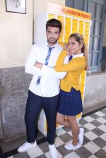 Anusha Dandekar, Karan Kundra at the promo shoot of upcoming season 2 of MTV_s Love school on 7th Sept 2016 (37)_57d11050417b5.JPG
