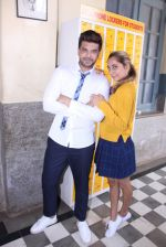 Anusha Dandekar, Karan Kundra at the promo shoot of upcoming season 2 of MTV_s Love school on 7th Sept 2016 (41)_57d1105303dfa.JPG