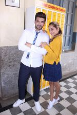 Anusha Dandekar, Karan Kundra at the promo shoot of upcoming season 2 of MTV_s Love school on 7th Sept 2016 (43)_57d11055790e4.JPG