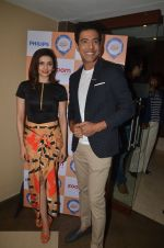 Prachi Desai with Chef Ranveer Brar at the press conference to announce the launch of Thank God It_s Fryday 3.0 in Mumbai on 8th Sept 2016 (1)_57d12058a4770.JPG