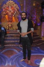 Ritesh Deshmukh promote Banjo on the sets of Kumkum Bhagya on 7th Sept 2016 (93)_57d10c6c32717.JPG