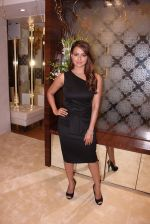 Sana Khan during the launch of India_s first customized gold coin store IBJA Gold, in Mumbai on 7th Sept 2016 (60)_57d10fc108bc9.JPG