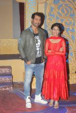 Shabbir Ahluwalia, Sriti Jha on the sets of Kumkum Bhagya on 7th Sept 2016 (96)_57d10cafa65dd.JPG