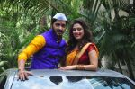 Shreyas Talpade and Manjari Fadnis during the trailer launch of film Wah Taj in Mumbai on 7th Sept 2016 (84)_57d11dd76ca56.JPG