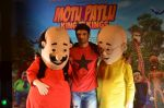 Sushant Singh Rajput supports Motu Patlu 3d film  on 8th Sept 2016 (1)_57d1203e57708.JPG