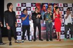 Urvashi Rautela, Vidyut Jamwal, Harmeet Singh, Sukhbir Singh and Manmeet Singh during the launch of song Gal Ban Gayi in Mumbai on 7th Sept 2016 (100)_57d11e5a1eec2.JPG