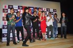 Urvashi Rautela, Vidyut Jamwal, Harmeet Singh, Sukhbir Singh and Manmeet Singh during the launch of song Gal Ban Gayi in Mumbai on 7th Sept 2016 (82)_57d11e905024d.JPG