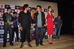 Urvashi Rautela, Vidyut Jamwal, Harmeet Singh, Sukhbir Singh and Manmeet Singh during the launch of song Gal Ban Gayi in Mumbai on 7th Sept 2016 (84)_57d11f99f3334.JPG
