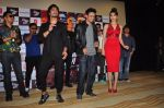 Urvashi Rautela, Vidyut Jamwal, Harmeet Singh, Sukhbir Singh and Manmeet Singh during the launch of song Gal Ban Gayi in Mumbai on 7th Sept 2016 (85)_57d11ed82f263.JPG