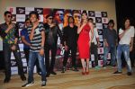 Urvashi Rautela, Vidyut Jamwal, Harmeet Singh, Sukhbir Singh and Manmeet Singh during the launch of song Gal Ban Gayi in Mumbai on 7th Sept 2016 (92)_57d11e91e5302.JPG