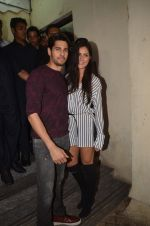 Katrina Kaif, Sidharth Malhotra at Baar Baar Dekho Screening on 8th Sept 2016 (113)_57d29e08643b5.JPG