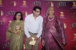 Pandit Hariprasad Chaurasia with Amit Kumar and his Leena Chandavarkar during the occasion of Bollywood singer Asha Bhosle 83rd birthday in Mumbai, India on September 8, 2016  (1)_57d249622714c.JPG