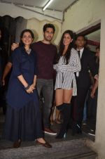 Sidharth Malhotra, Katrina Kaif at Baar Baar Dekho Screening on 8th Sept 2016 (113)_57d29e9a871c5.JPG