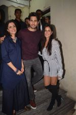 Sidharth Malhotra, Katrina Kaif at Baar Baar Dekho Screening on 8th Sept 2016 (115)_57d29e9e201bf.JPG