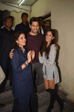 Sidharth Malhotra, Katrina Kaif at Baar Baar Dekho Screening on 8th Sept 2016 (117)_57d29ea22cda1.JPG