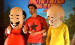 Sushant Singh Rajput supports Motu Patlu 3d film on 8th Sept 2016 (10)_57d2930424d0d.JPG
