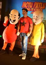 Sushant Singh Rajput supports Motu Patlu 3d film on 8th Sept 2016 (11)_57d2930568cb4.JPG
