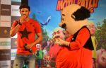 Sushant Singh Rajput supports Motu Patlu 3d film on 8th Sept 2016 (3)_57d292fb021c7.JPG
