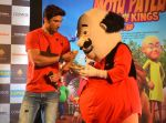 Sushant Singh Rajput supports Motu Patlu 3d film on 8th Sept 2016 (4)_57d292fc42247.JPG