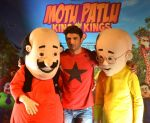 Sushant Singh Rajput supports Motu Patlu 3d film on 8th Sept 2016 (5)_57d292fd74eb2.JPG