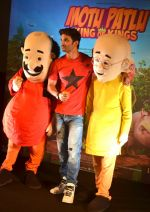 Sushant Singh Rajput supports Motu Patlu 3d film on 8th Sept 2016 (9)_57d29302b5f31.JPG