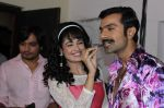 Yuvika Chaudhary, Ashmit Patel on the sets of Ek Maa Jo Ban Gayi Lakho Ke Liye Amma on Zee  (2)_57d2a10660249.JPG
