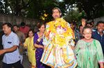 Dimple Kapadia Ganpati Visarjan on 9th Sept 2016 (4)_57d40c5b6ed00.JPG