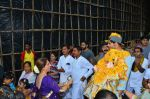 Dimple Kapadia Ganpati Visarjan on 9th Sept 2016 (14)_57d40c677b6fa.JPG