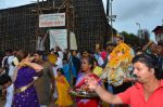 Dimple Kapadia Ganpati Visarjan on 9th Sept 2016 (17)_57d40c6a2076d.JPG