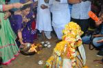 Dimple Kapadia Ganpati Visarjan on 9th Sept 2016 (18)_57d40c6b6dad3.JPG