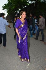Dimple Kapadia Ganpati Visarjan on 9th Sept 2016 (8)_57d40c61a3ec4.JPG