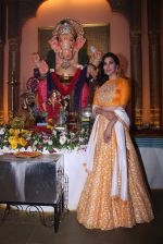 Sophie Choudry at Ganpati mandal on 9th Sept 2016 (32)_57d417ed586d9.JPG