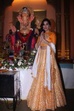Sophie Choudry at Ganpati mandal on 9th Sept 2016 (40)_57d417f51a3dd.JPG