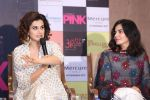 Taapsee Pannu , Kirti Kulhari, Andrea Tariang at Pink press meet in Mumbai on 9th Sept 2016 (529)_57d42200f11ea.JPG
