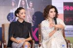 Taapsee Pannu , Kirti Kulhari, Andrea Tariang at Pink press meet in Mumbai on 9th Sept 2016 (528)_57d4227375a1f.JPG