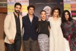 Taapsee Pannu , Kirti Kulhari, Andrea Tariang, Angad Bedi at Pink press meet in Mumbai on 9th Sept 2016 (646)_57d4228553039.JPG