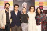 Taapsee Pannu , Kirti Kulhari, Andrea Tariang, Angad Bedi at Pink press meet in Mumbai on 9th Sept 2016 (651)_57d422860e1b2.JPG