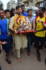 Vivek Oberoi Ganpati Visarjan on 9th Sept 2016 (28)_57d40dc87f1d0.JPG
